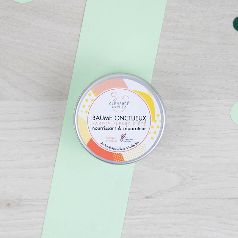 Mini Baume Onctueux Fleurs d'été - Clémence et Vivien | GreenMeow