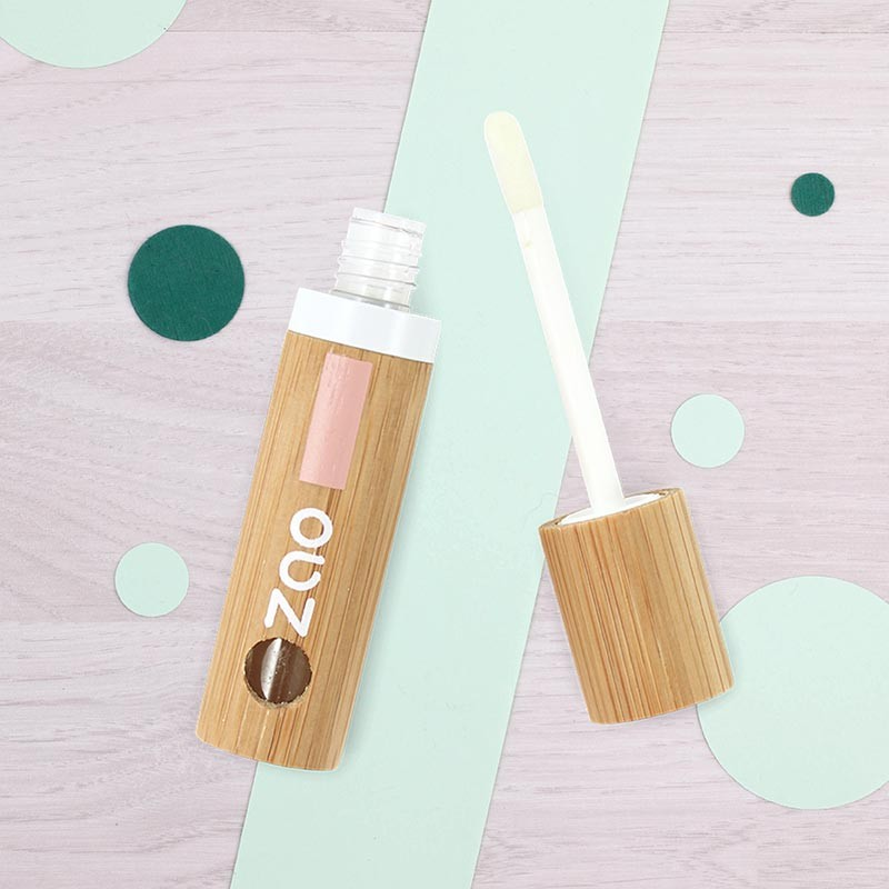 Huile soin des lèvres rechargeable Zao | GreenMeow
