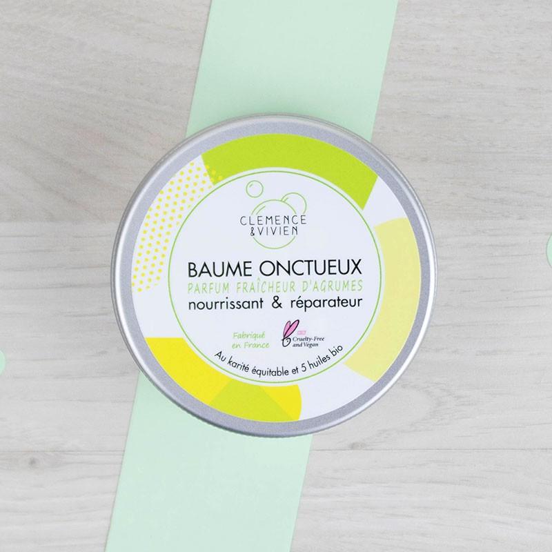 Baume Onctueux vegan Fraîcheur d'Agrumes Clémence et Vivien | GreenMeow