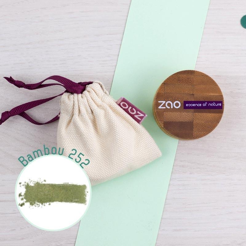 Fard à paupières crème 3 coloris Zao GreenMeow