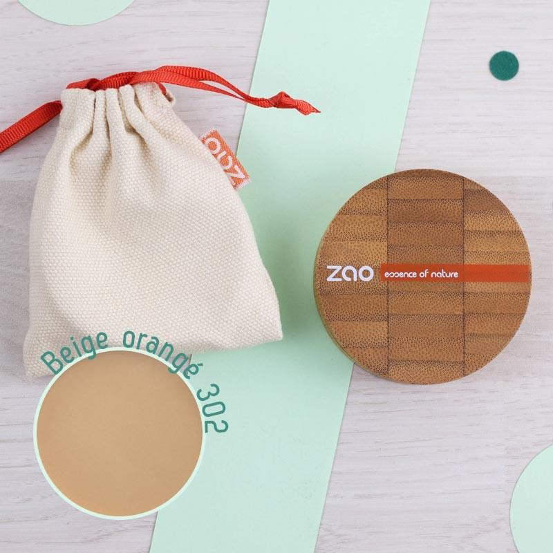 Poudre compacte 5 coloris Zao | GreenMeow