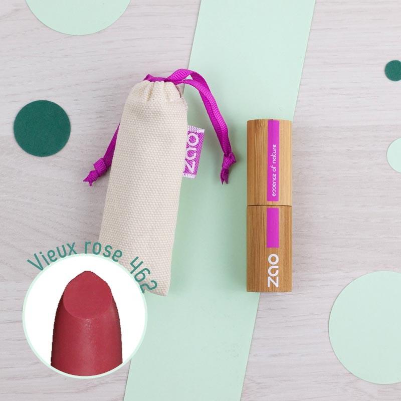 Rouge à Lèvres mat 10 coloris Zao   GreenMeow