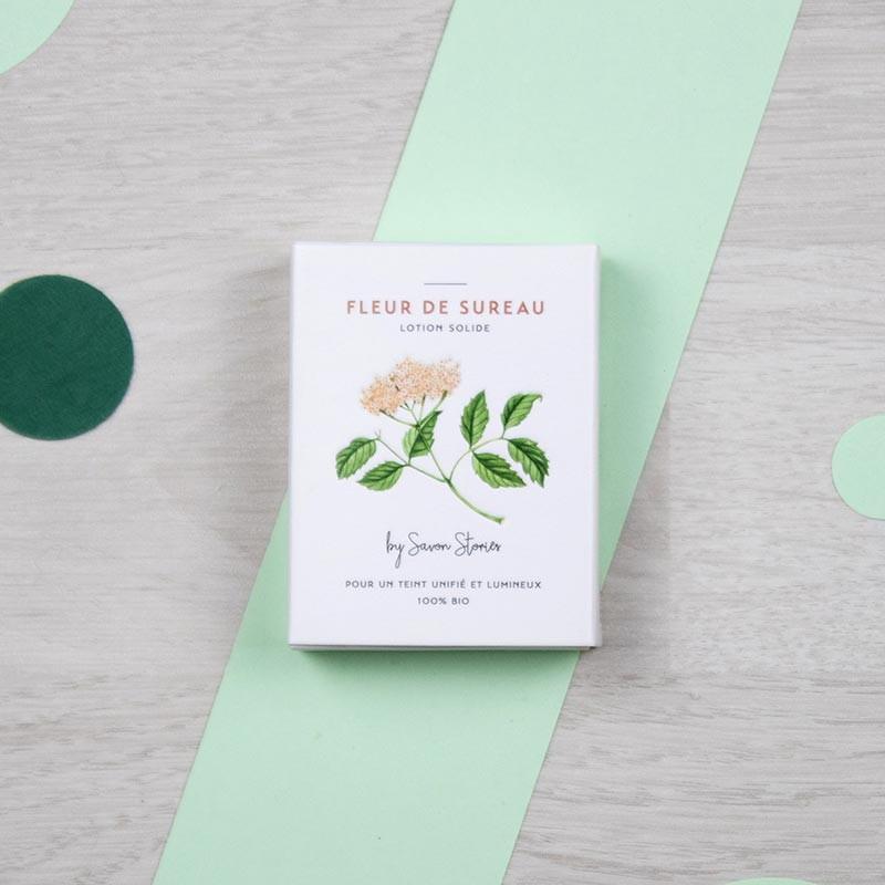 Baume solide bio à la Fleur de sureau - Savon Stories | GreenMeow