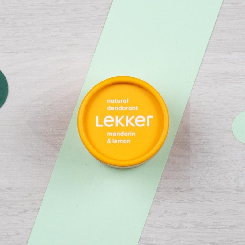Déodorant Mandarine & Citron Lekker | GreenMeow