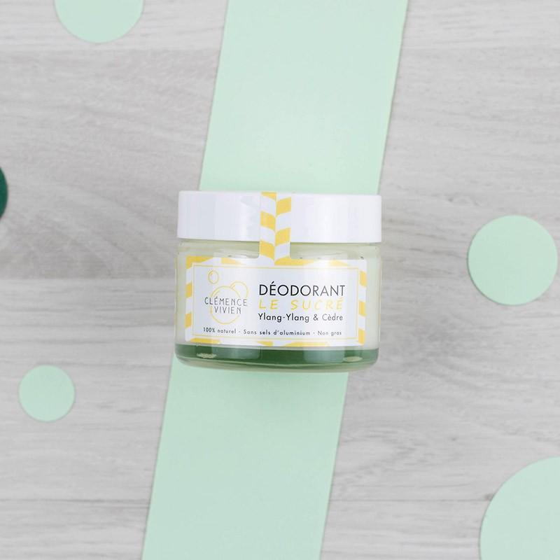 Déodorant Baume naturel Le Sucré - Clémence et Vivien | GreenMeow