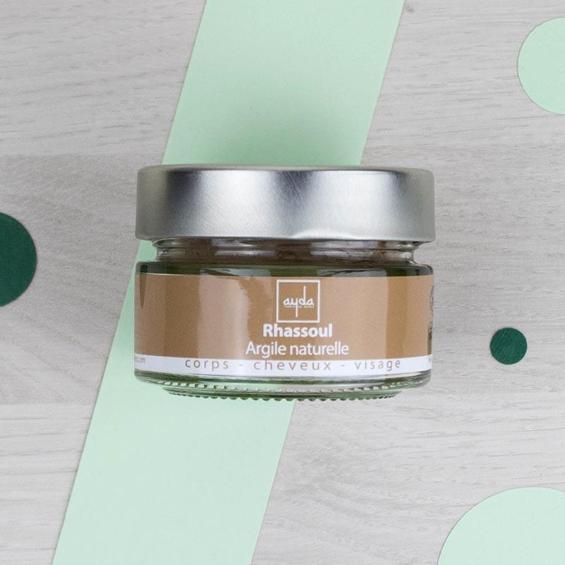 Rhassoul : Argile naturelle ultra-fine - Ayda | GreenMeow