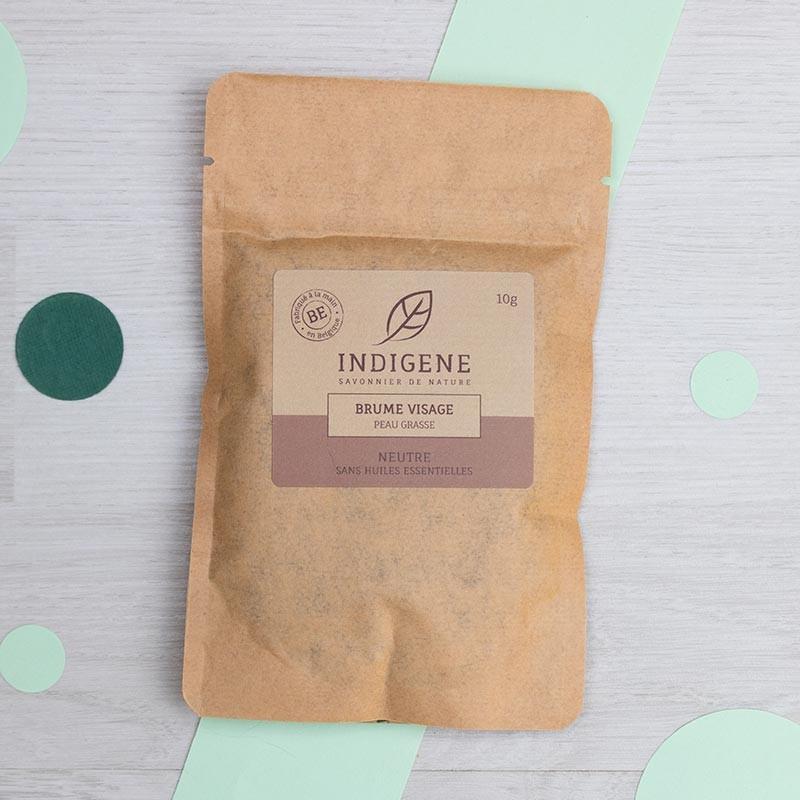Brume Visage bio pour Peaux Grasses - Indigène | GreenMeow