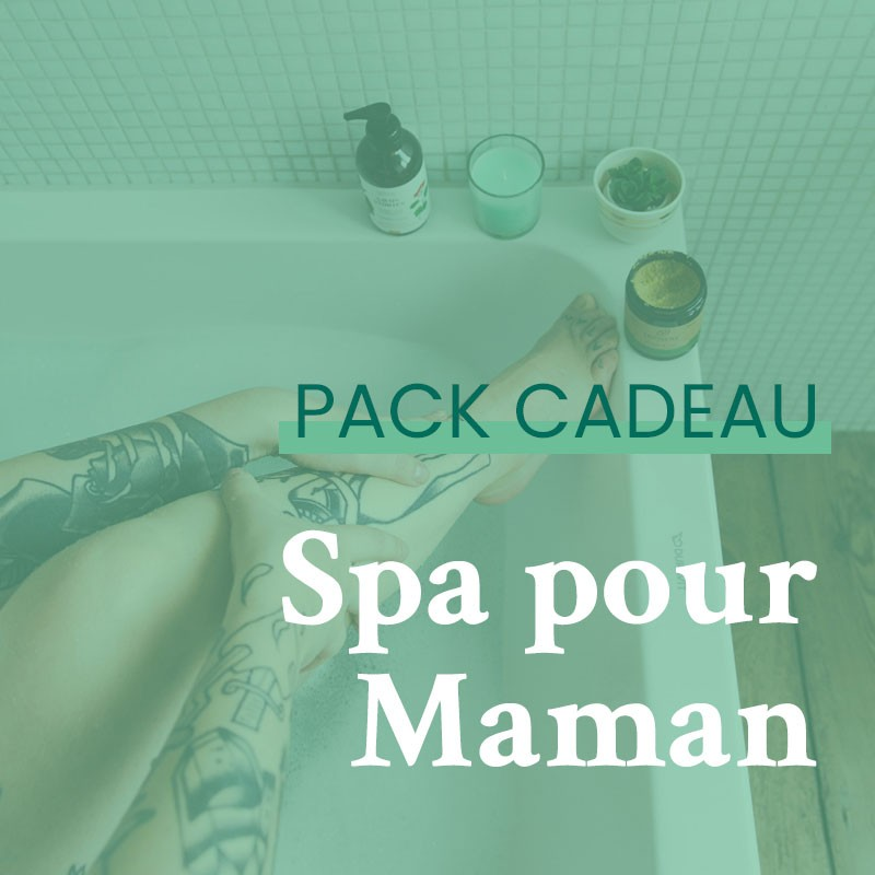 Pack cadeau Spa | GreenMeow