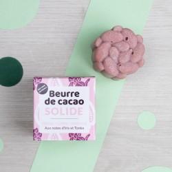 Beurre de Cacao solide rose - Iris & Tonka