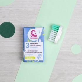Recharge 3 têtes de brosse à dents Medium