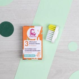 Recharge 3 têtes de brosse à dents Souple