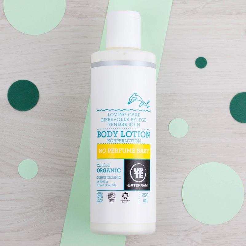 Lotion corps bébé Sans parfum Urtekram | GreenMeow