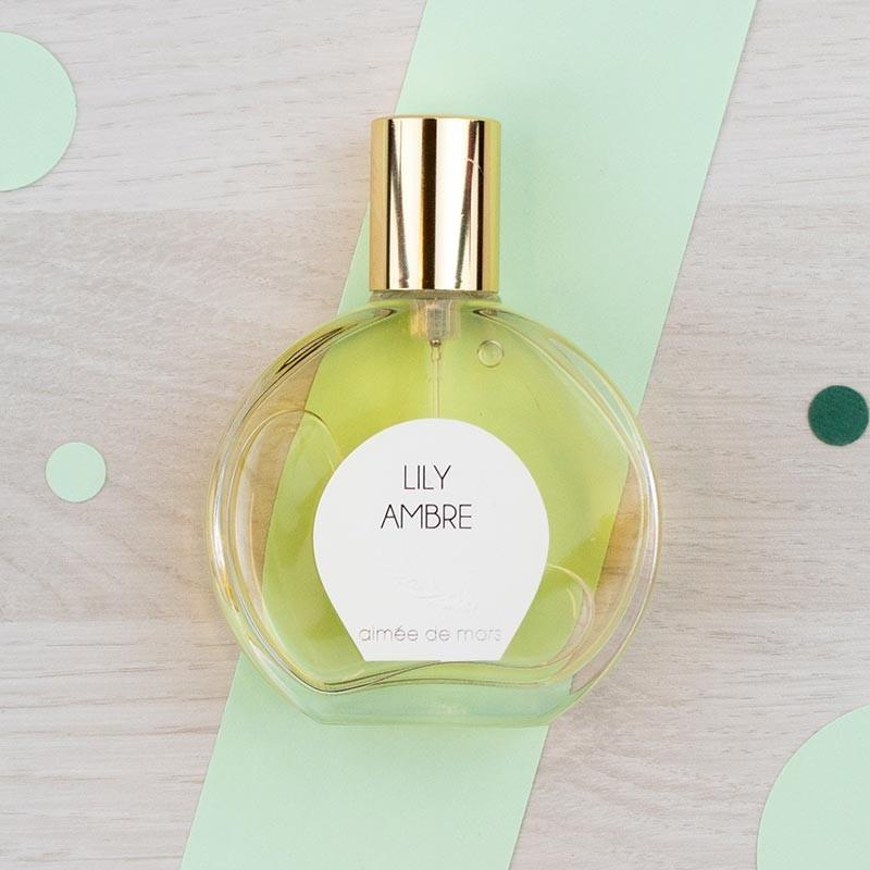 Eau de parfum naturelle Lily Ambre - Aimée de Mars | GreenMeow