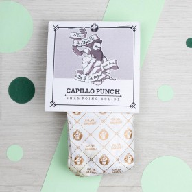 Capillo Punch - shampoing solide - forme Moustache