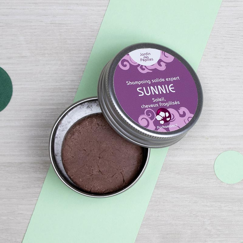 Shampoing solide Sunnie - format voyage - Pachamamaï | GreenMeow