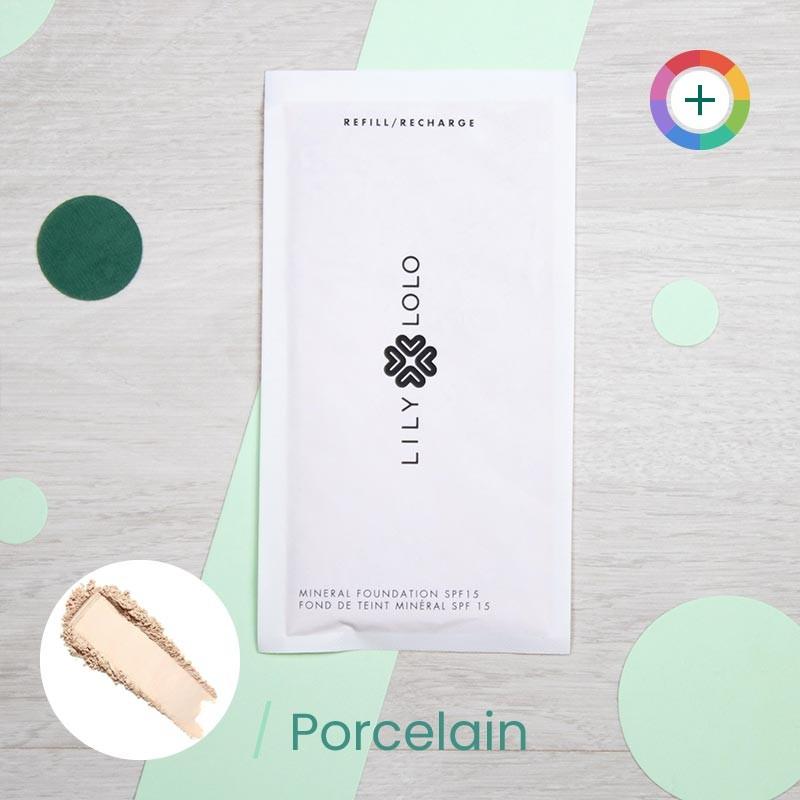 Recharge Fond de teint minéral & naturel - Lily Lolo | GreenMeow