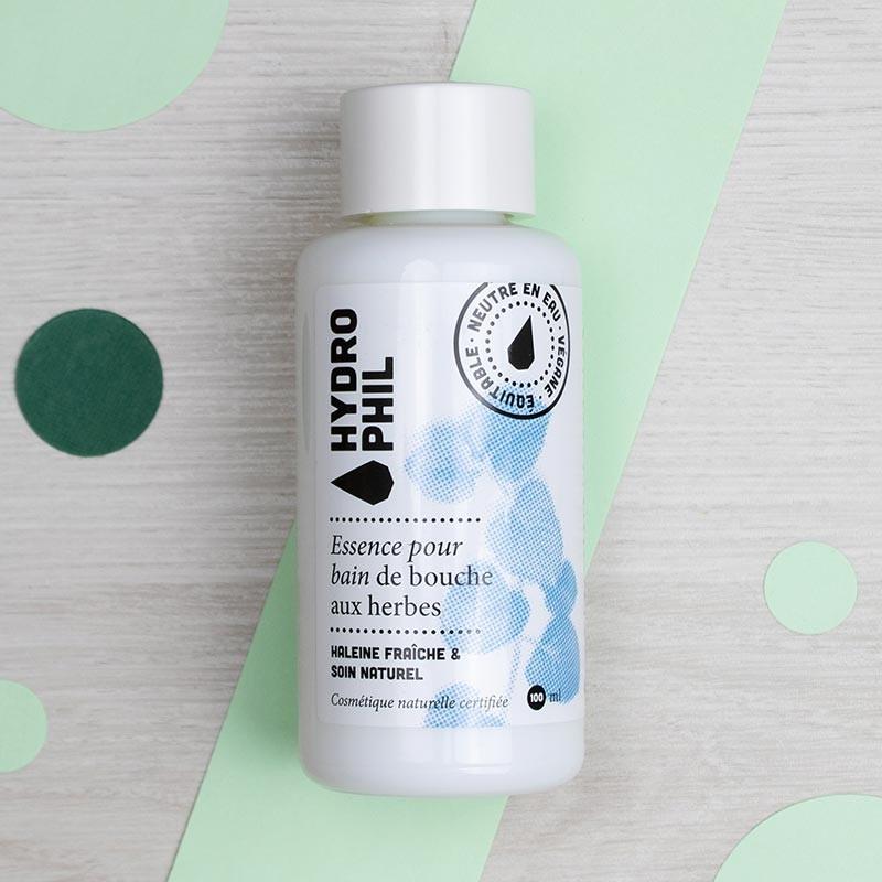 Bain de bouche concentré aux plantes - Hydrophil | GreenMeow