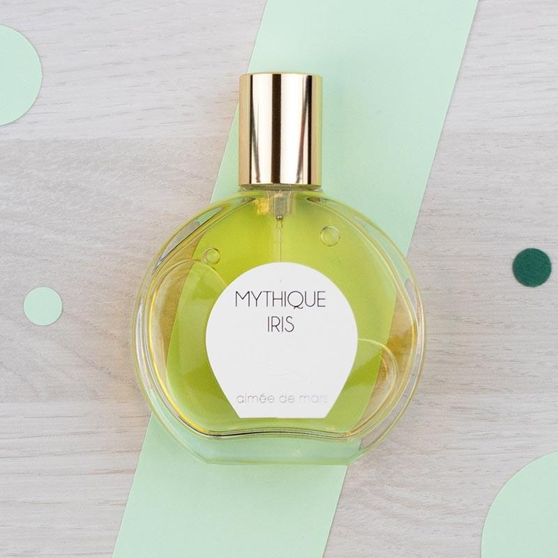 Eau de parfum naturelle Mythique Iris - Aimée de Mars | GreenMeow