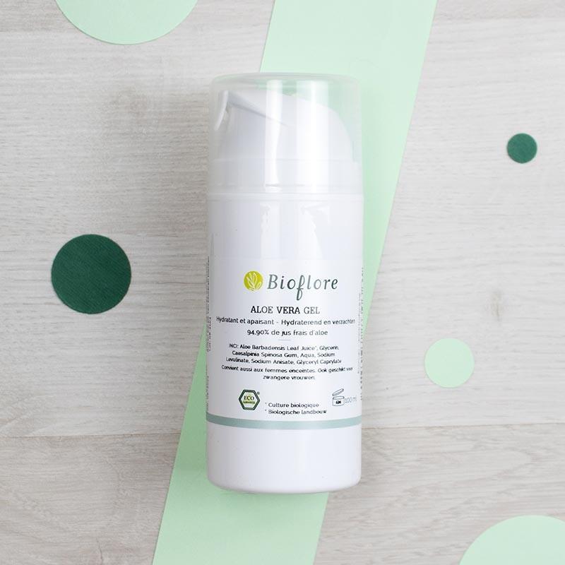 Gel d'Aloe Vera bio - Bioflore | GreenMeow