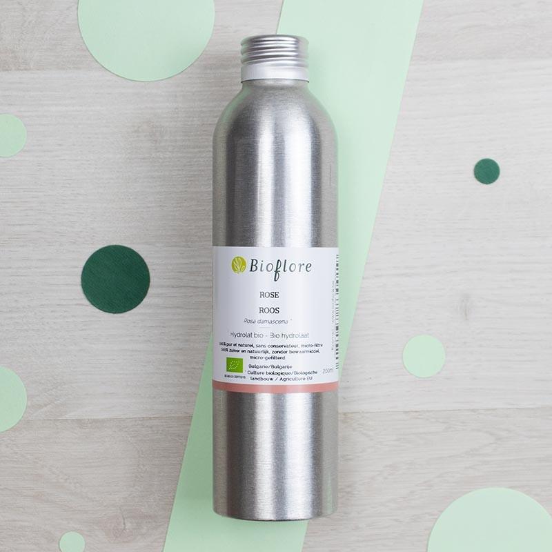 Hydrolat de Rose de Damas Bioflore | GreenMeow
