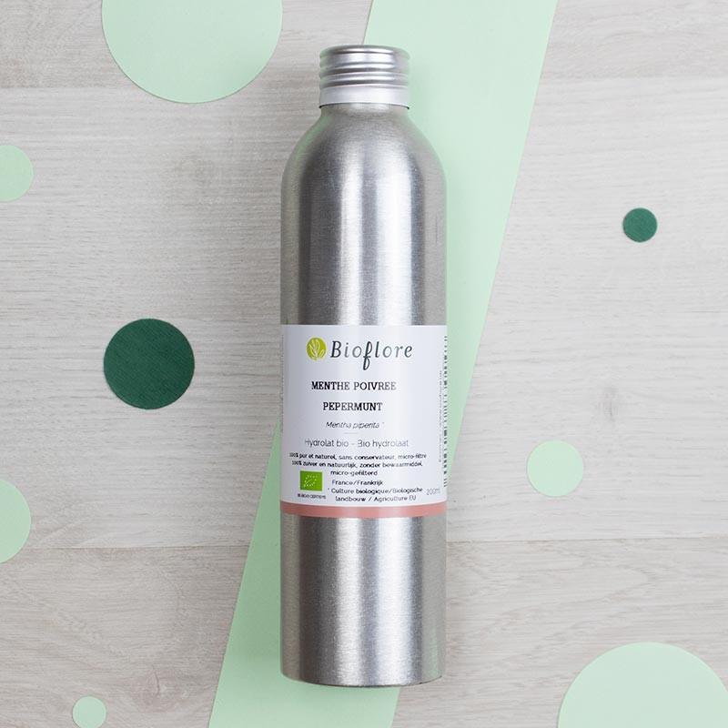 Hydrolat de Menthe poivrée Bioflore | GreenMeow