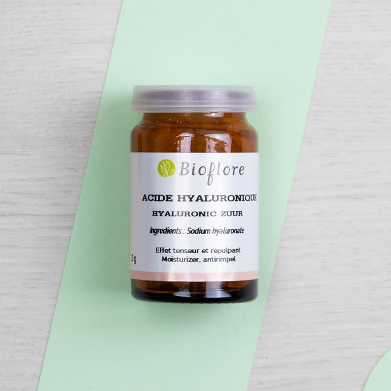 Acide hyaluronique en poudre - Bioflore   GreenMeow