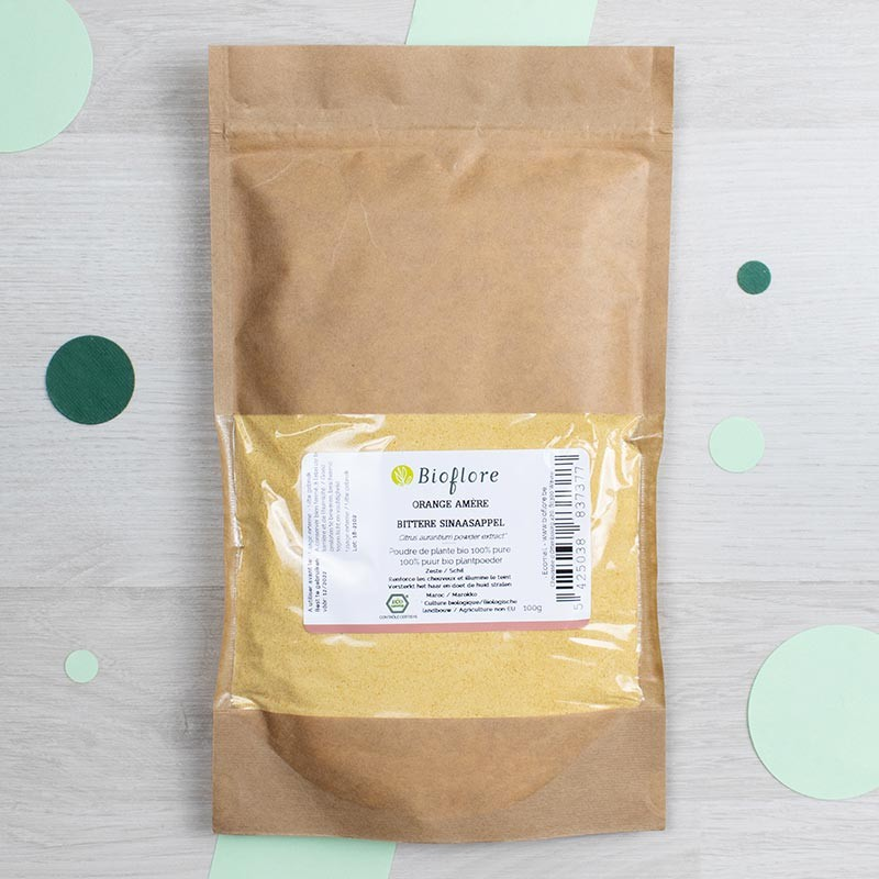 Poudre d'Orange amère bio - Bioflore | GreenMeow