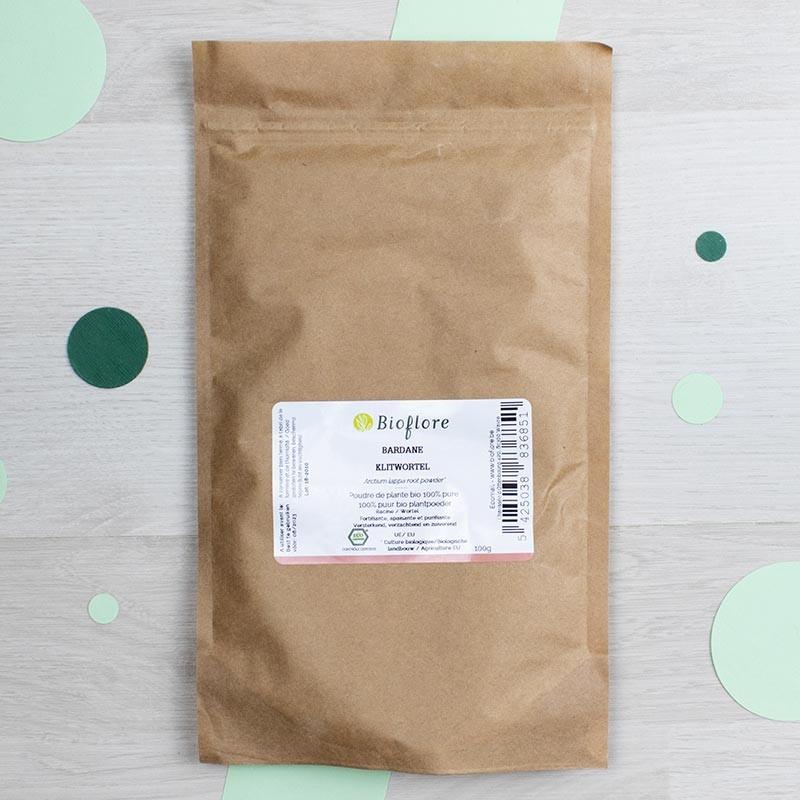 Poudre de Bardane bio - Bioflore   GreenMeow