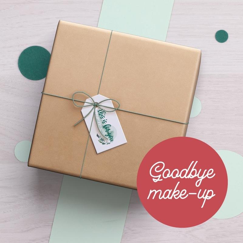 Box Goodbye make-up GreenMeow