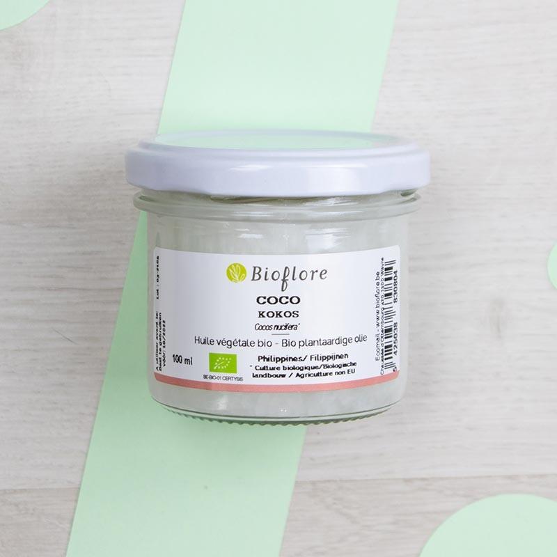 Huile végétale de Coco Bioflore   GreenMeow