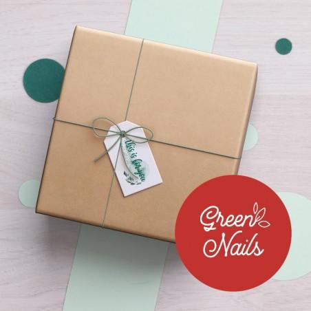 Box Green Nails GreenMeow