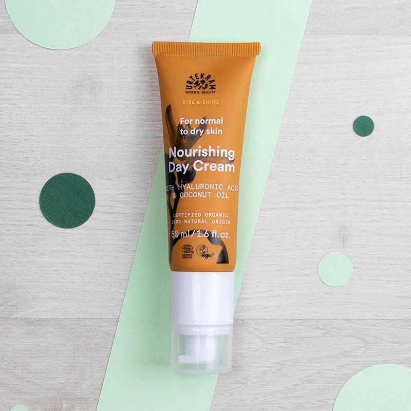 Crème de jour naturelle & vegan Rise & Shine - Urtekram | GreenMeow