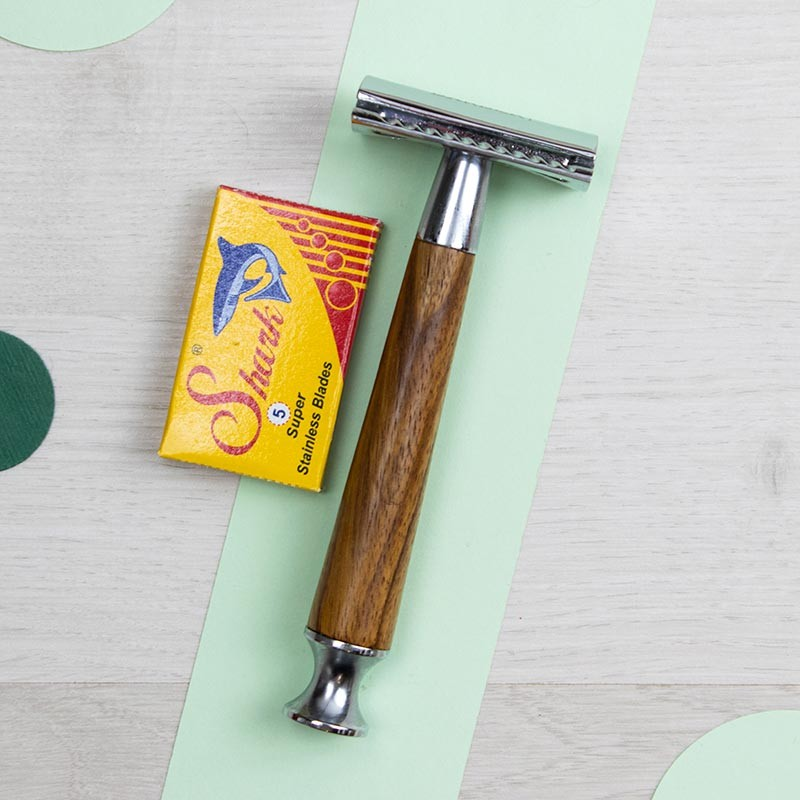 Rasoir de Sûreté ou Rasoir de Sécurité - Ça va barber   GreenMeow