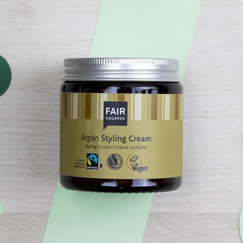 Crème fixante pour cheveux à l'Argan - FairSquared | GreenMeow