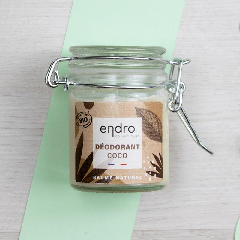 Déodorant baume naturel à la Noix de Coco - Endro   GreenMeow