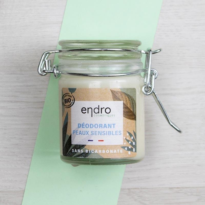 Déodorant peaux sensibles Aloe Vera & Concombre - Endro | GreenMeow