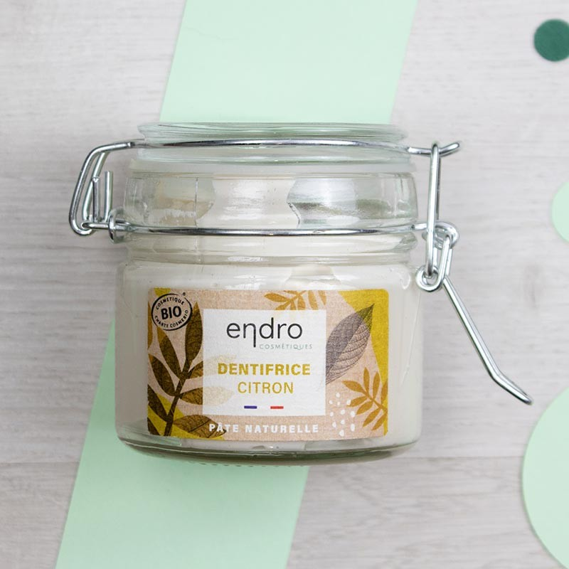 Dentifrice en pâte naturel et vegan - Endro   GreenMeow