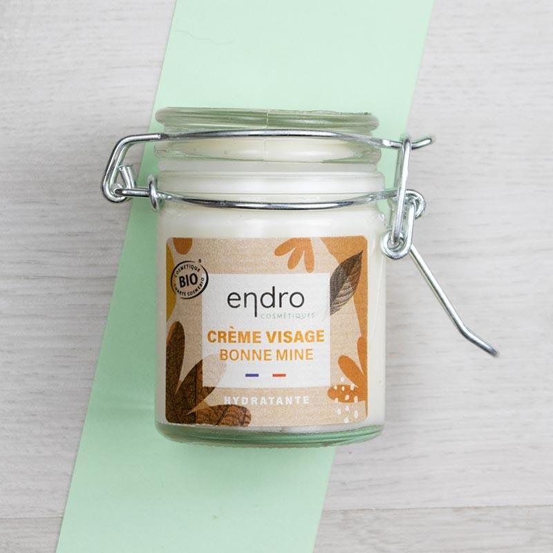 Crème visage hydratante Bonne mine - Endro | GreenMeow