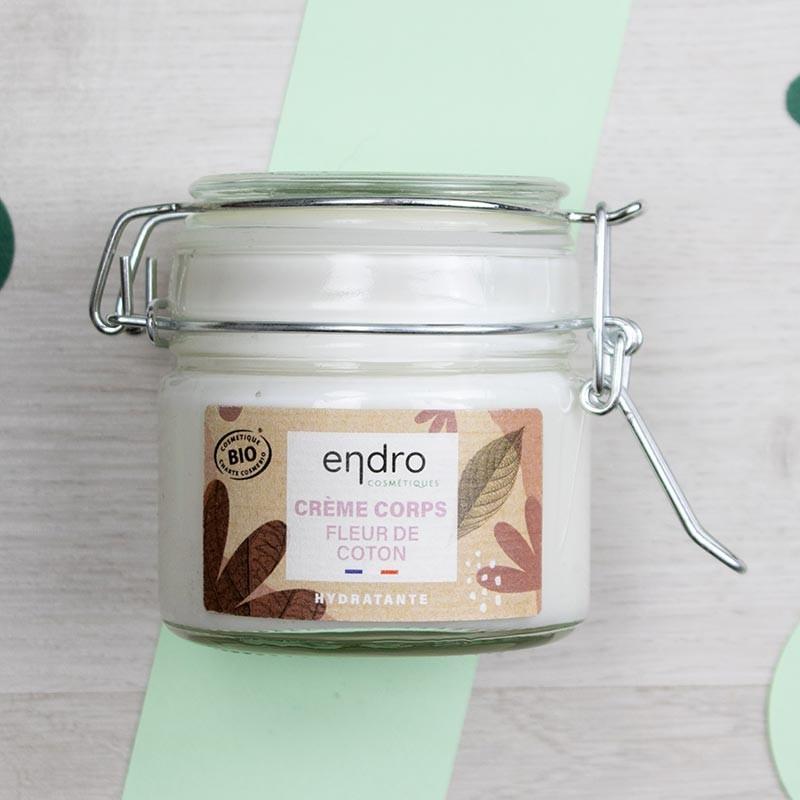 Crème corps hydratante Fleur de coton - Endro   GreenMeow