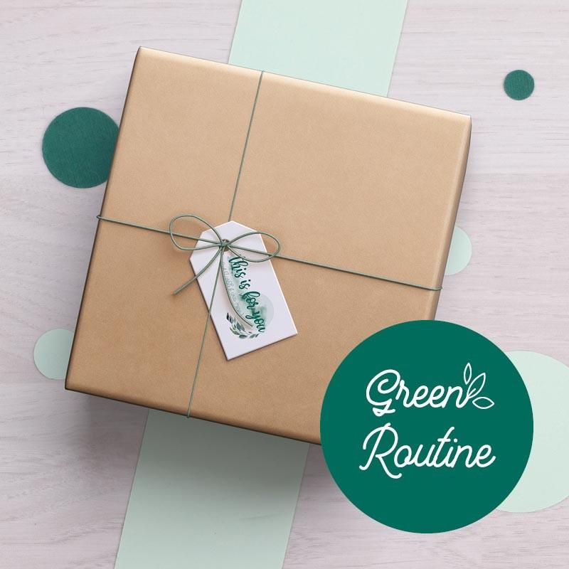 Box Green Routine - peaux sèches
