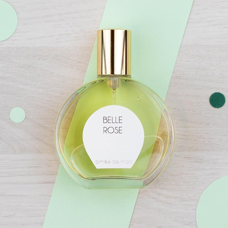 Eau de parfum naturelle Belle Rose - Aimée de Mars | GreenMeow
