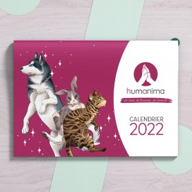 Calendrier 2022 HumAnima asbl