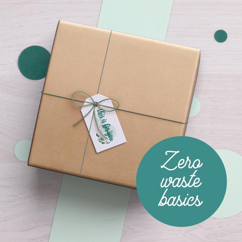 Box Zero waste basics GreenMeow