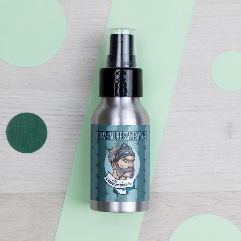 Crème nourrissante visage à la Cannapothicaire - Ca va Barber   GreenMeow