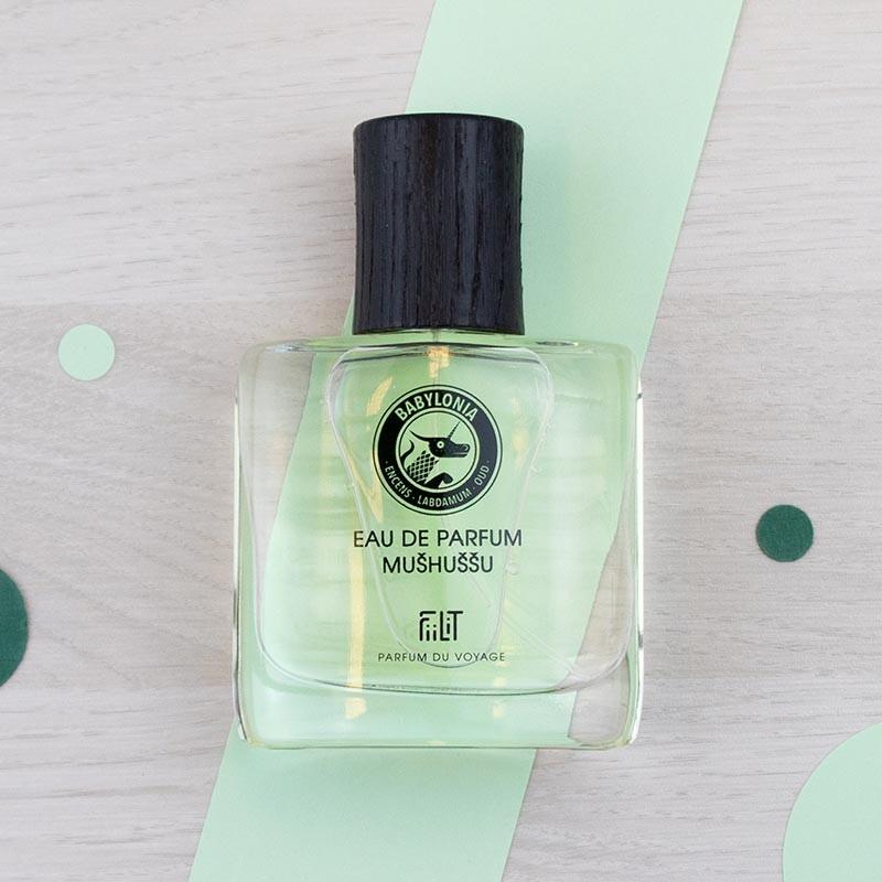 Eau de parfum Babylonia Mushussu 50 ml FiiLiT   GreenMeow
