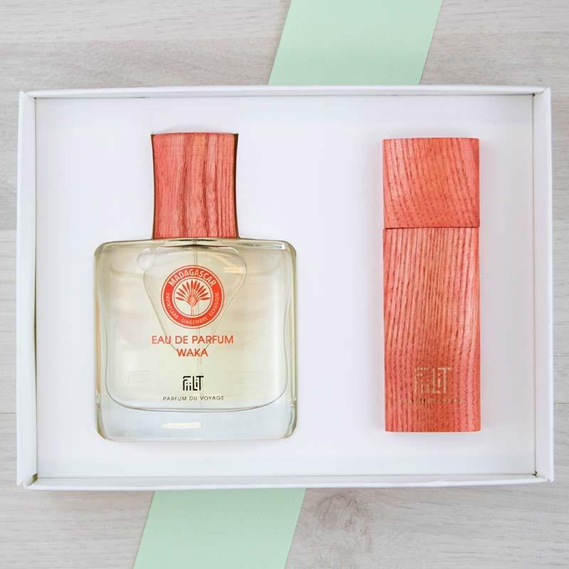 Coffret Luxe Eau de parfum Madagascar Waka FiiLiT   GreenMeow
