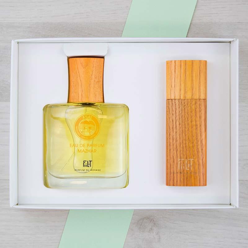 Coffret Luxe Eau de parfum Atlas Mazhar FiiLiT | GreenMeow