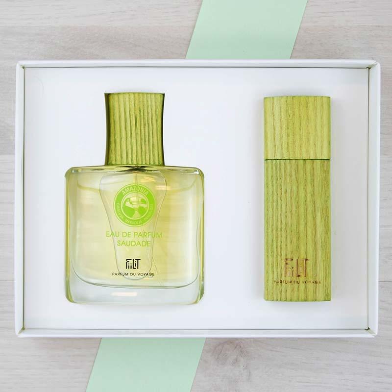 Coffret Luxe Eau de parfum Amazonia Saudade FiiLiT | GreenMeow