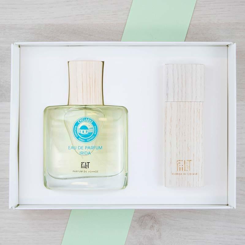 Coffret Luxe Eau de parfum Cyclades FiiLiT | GreenMeow