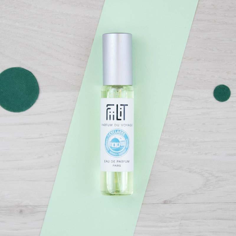 Recharge Eau de parfum Cyclades Irida FiiLiT | GreenMeow